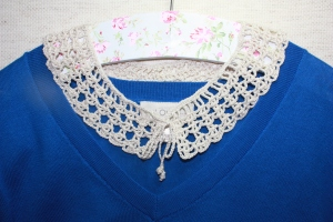 Country Chic Collar Necklace