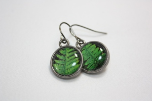 Forest Leaf Earrings