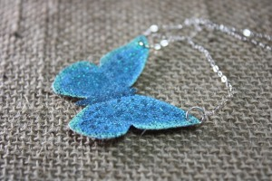 Speckled Blue Butterfly