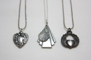 Antique Silver Necklaces