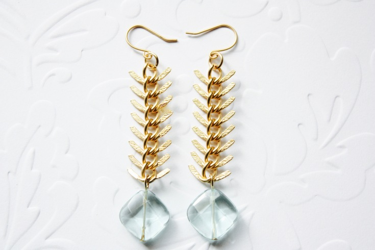 Aquamarine Quartz Earrings7
