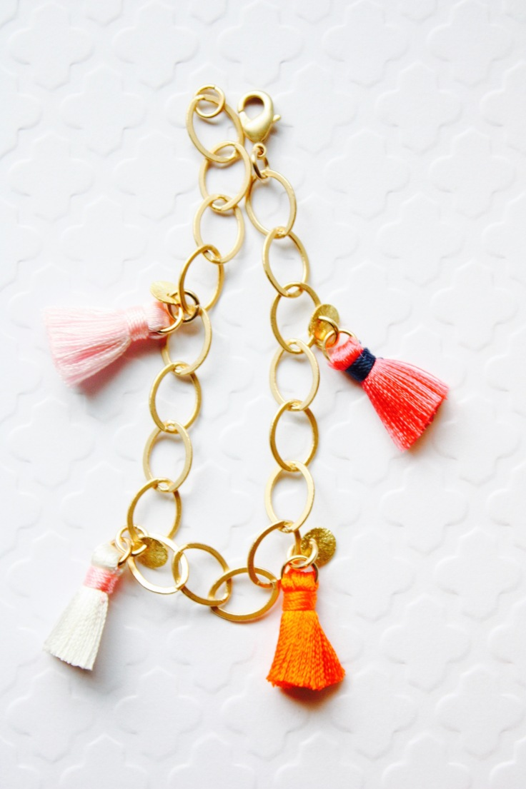 Colorful Tassel Braclet11